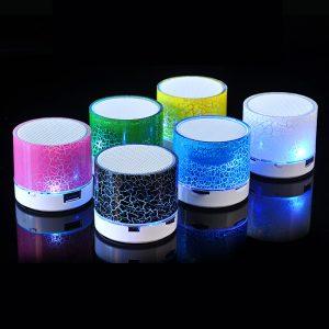 Portable LED Mini Wireless Bluetooth Speaker