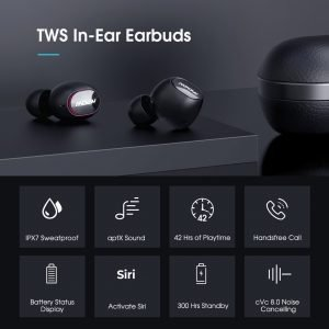 Wireless Earbuds for Android/Windows/iOS