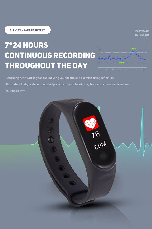Unisex Bluetooth Sport Smart Watch