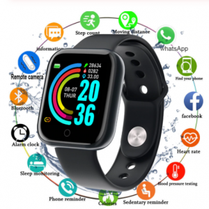 Smart Watch with Blood Pressure Tracker