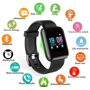Waterproof Health Monitoring Smart Watch
